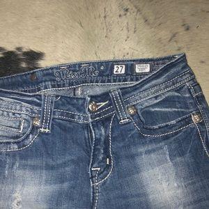 Miss Me Jeans - Peace Symbol Miss Me Jeans